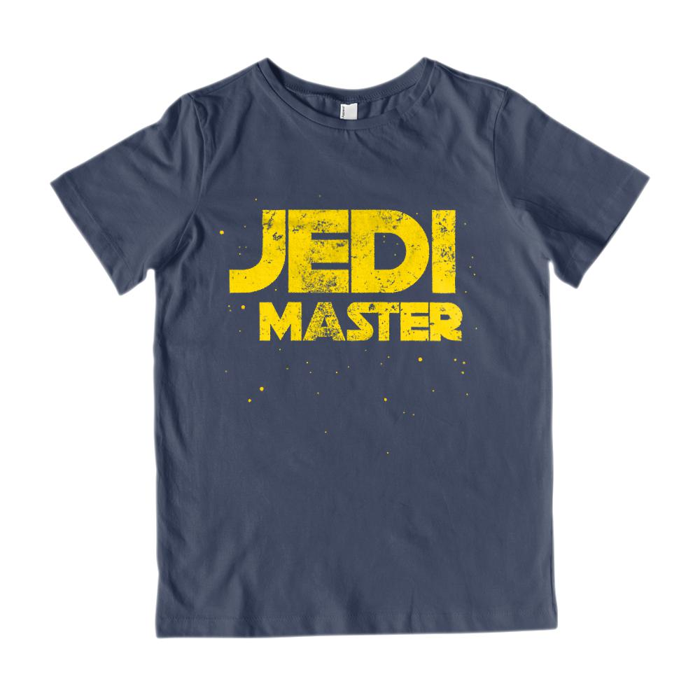 (Kid's Gildan Cotton Tee) JEDI MASTER STAR SPACE WARS Graphic T-Shirt Tee BOXELS