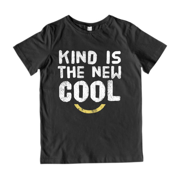 Kind is the New Cool (Kid's Gildan 2000 Cotton Tee) Kindness Graphic T-Shirt Tee BOXELS