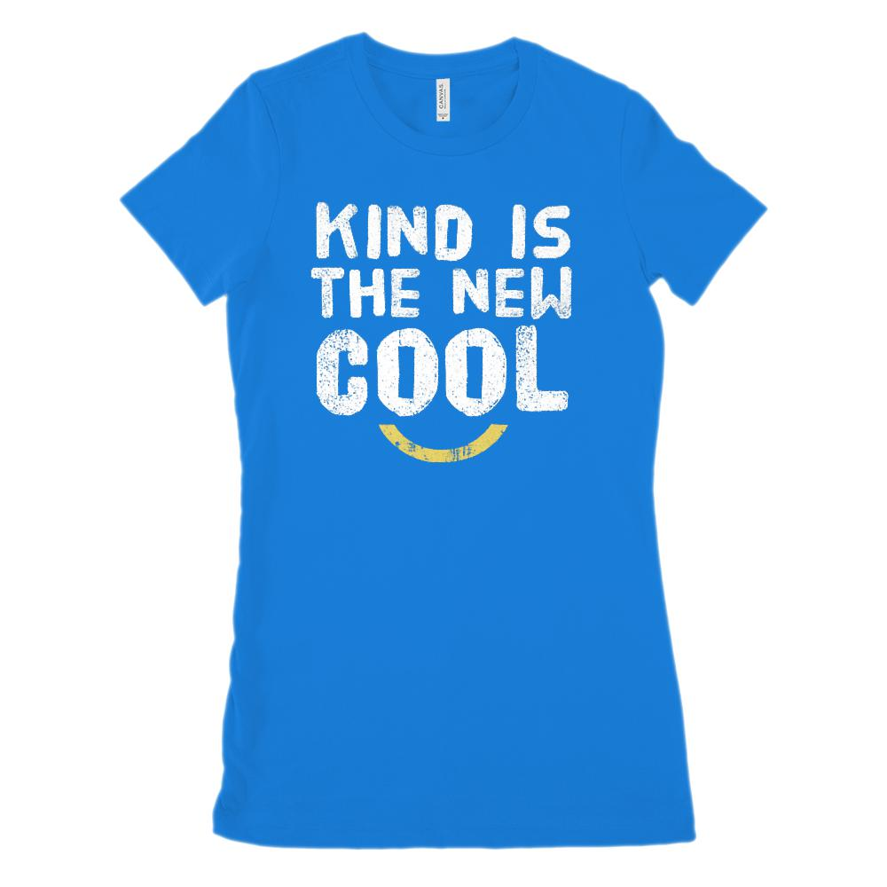 Kind is the New Cool (Unisex BC 3001 Soft Tee) Kindness Graphic T-Shirt Tee BOXELS