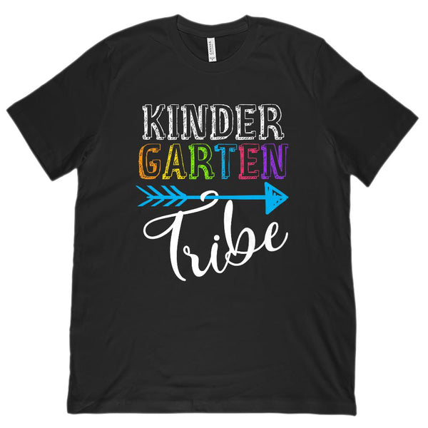 KinderGarten Tribe Teacher Clan (Unisex BC 3001 Soft Tee) Graphic T-Shirt Tee BOXELS