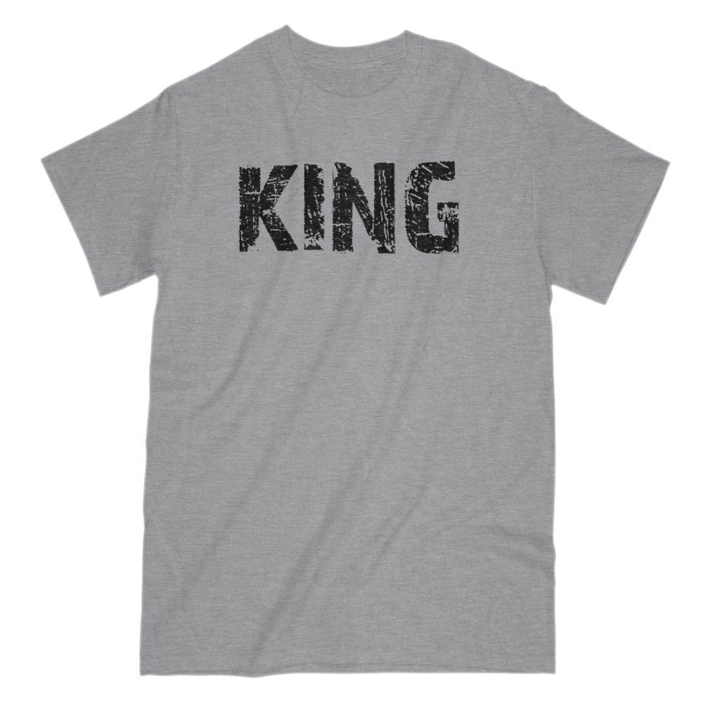 KING Chess King Graphic Saying T-Shirt