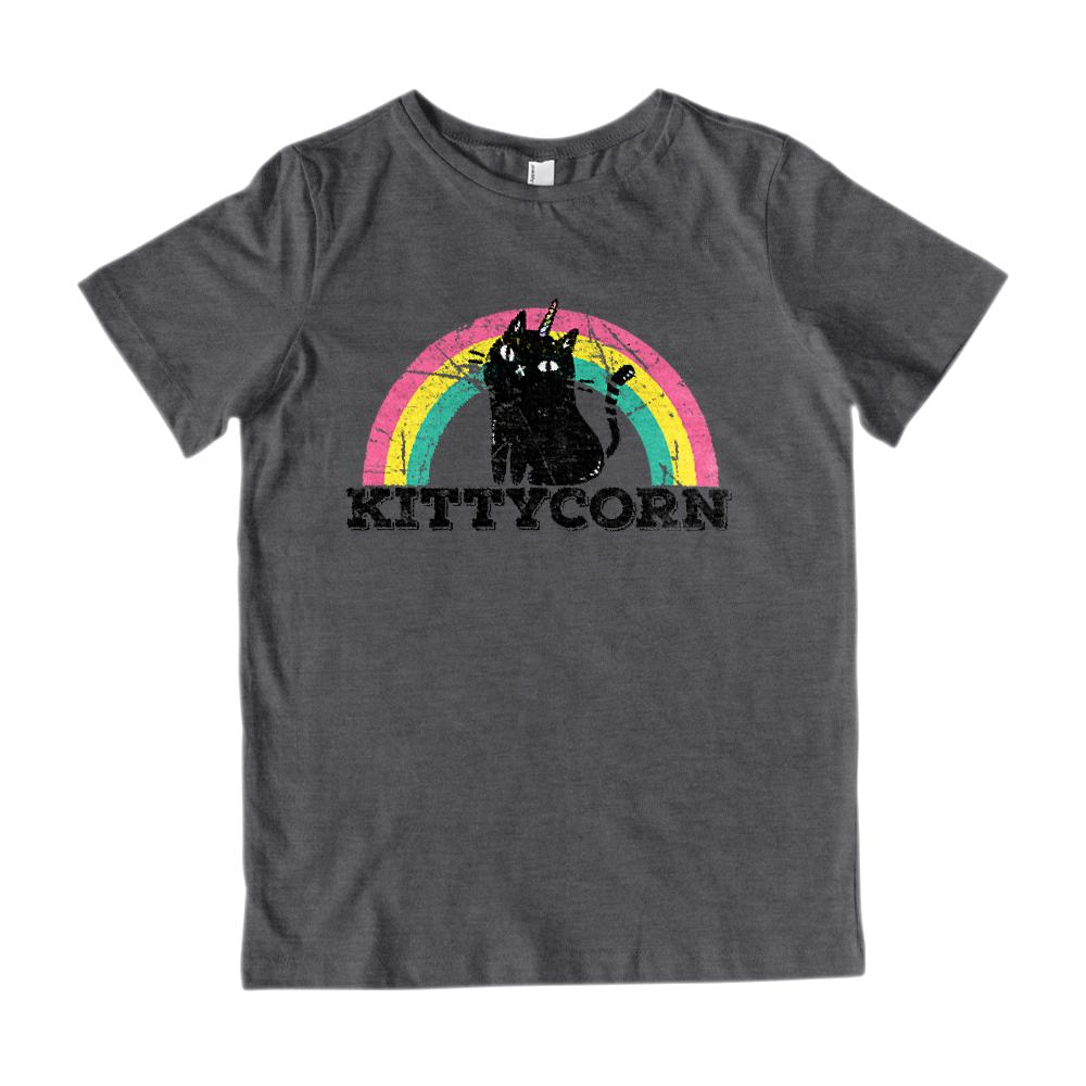 Kittycorn (kids) Kitty Kitten Unicorn Rainbow Magical Tee
