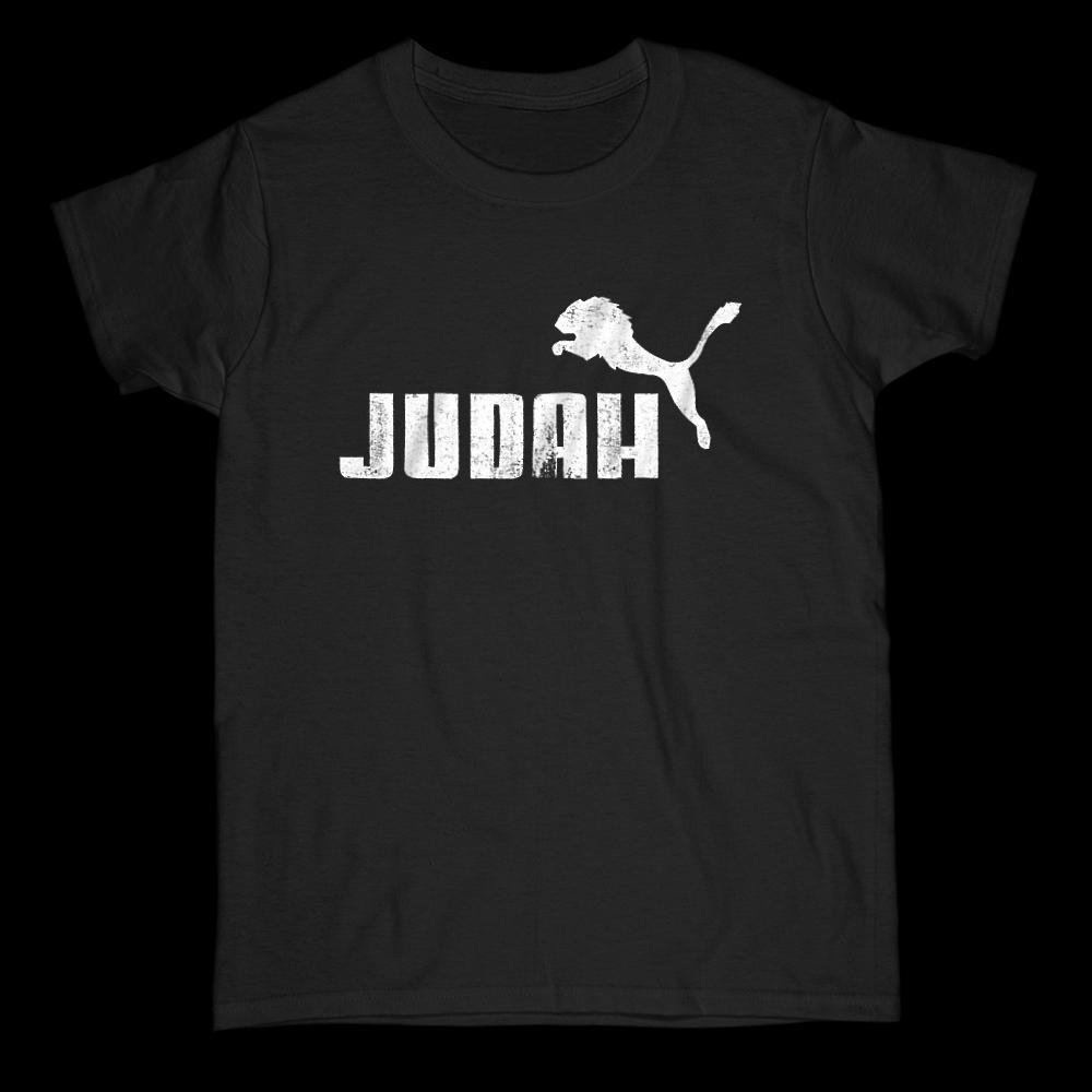 Lion of Judah Parody Graphic Christian Gospel Religious T-Shirt Graphic T-Shirt Tee BOXELS