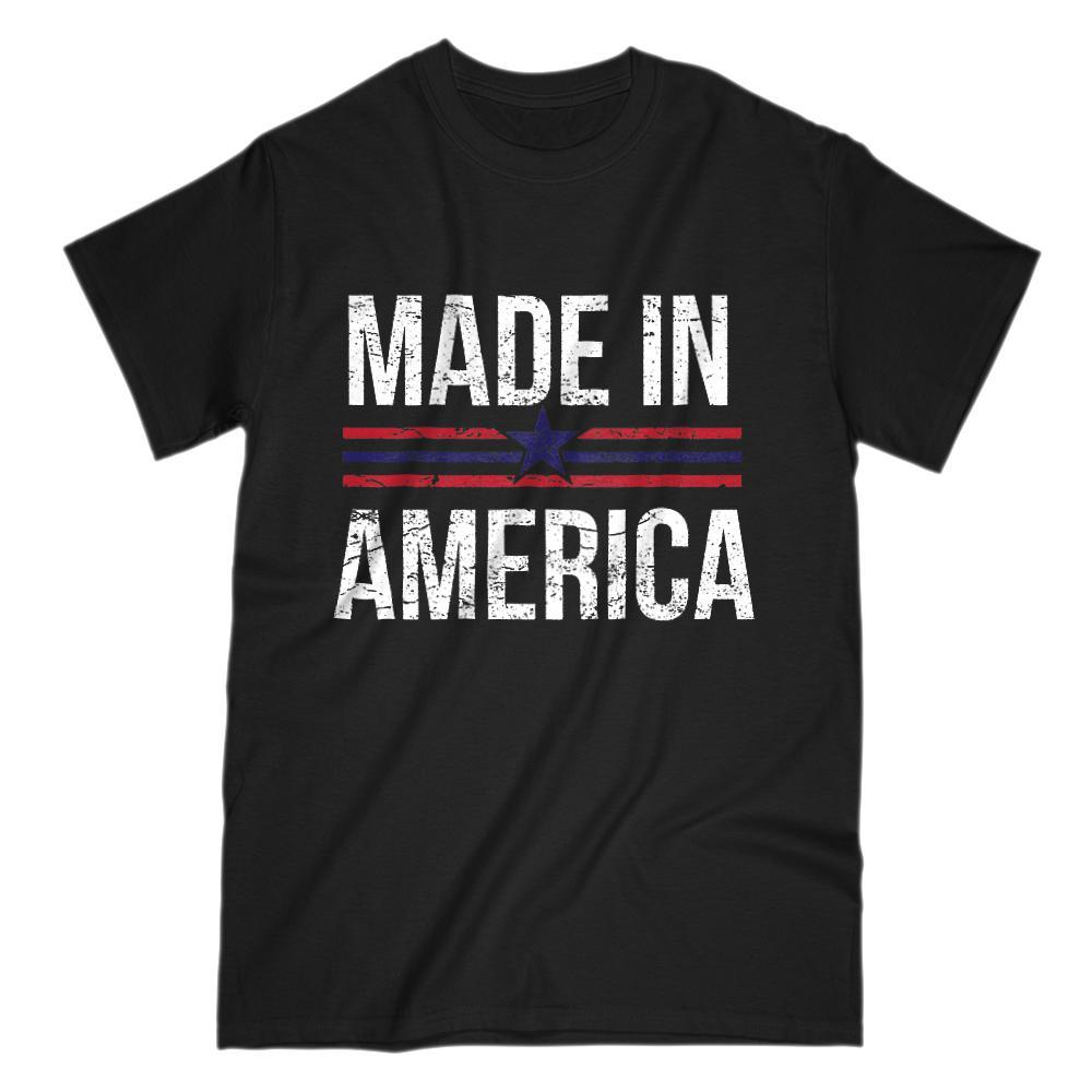 Made In America Grunge Graphic T-Shirt