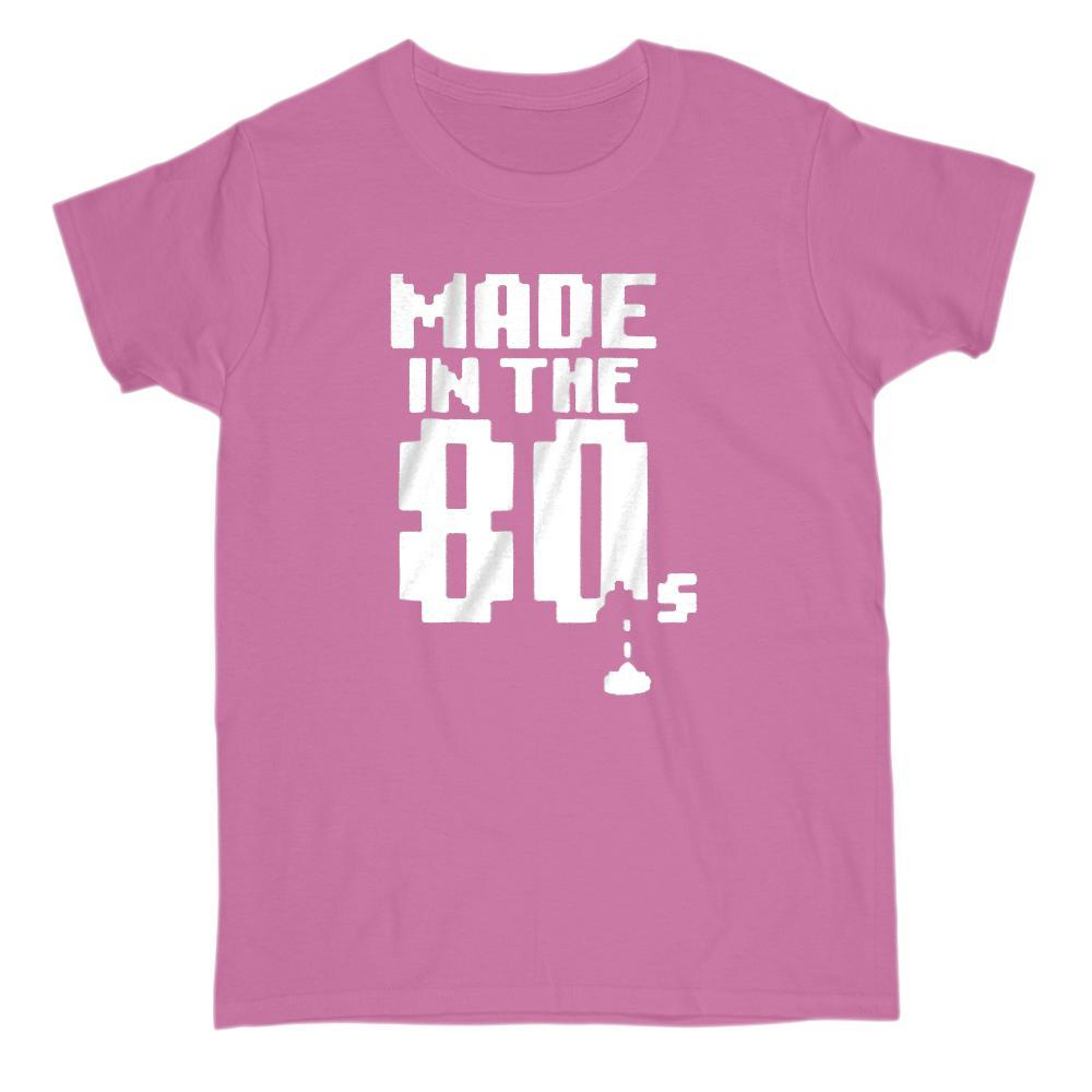 Made in the Retro 80s (1980, 1980s) Graphic T-Shirt Graphic T-Shirt Tee BOXELS
