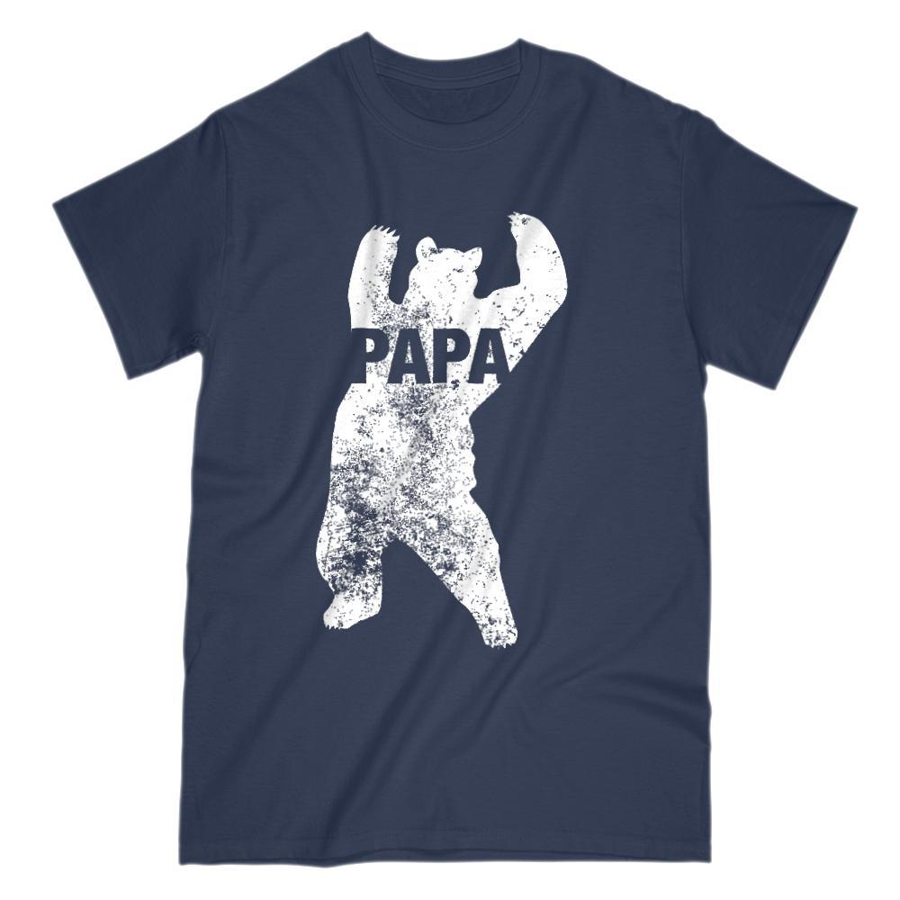 Matching Set | Family of Bears | 1 of 4 Papa T-shirts | Family, Reunion, Vacation Graphic T-Shirt Tee BOXELS