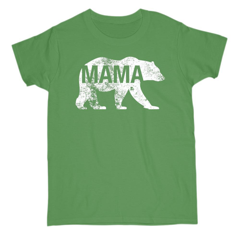 Matching Set | Family of Bears | 2 of 4 Mama T-shirts | Family, Reunion, Vacation Graphic T-Shirt Tee BOXELS