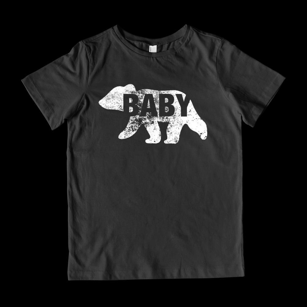 Matching Set | Family of Bears | 3 of 4 KIDS T-shirts | Family, Reunion, Vacation