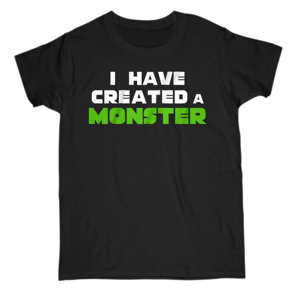 Matching Set | I Created A Monster | 1 of 3 ADULT T-Shirt | Family, Reunion Graphic T-Shirt Tee BOXELS