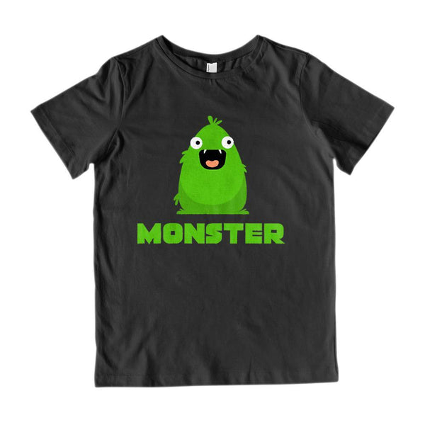 Matching Set | I Created A Monster | 2 of 3 KID T-Shirt | Family, Reunion Graphic T-Shirt Tee BOXELS