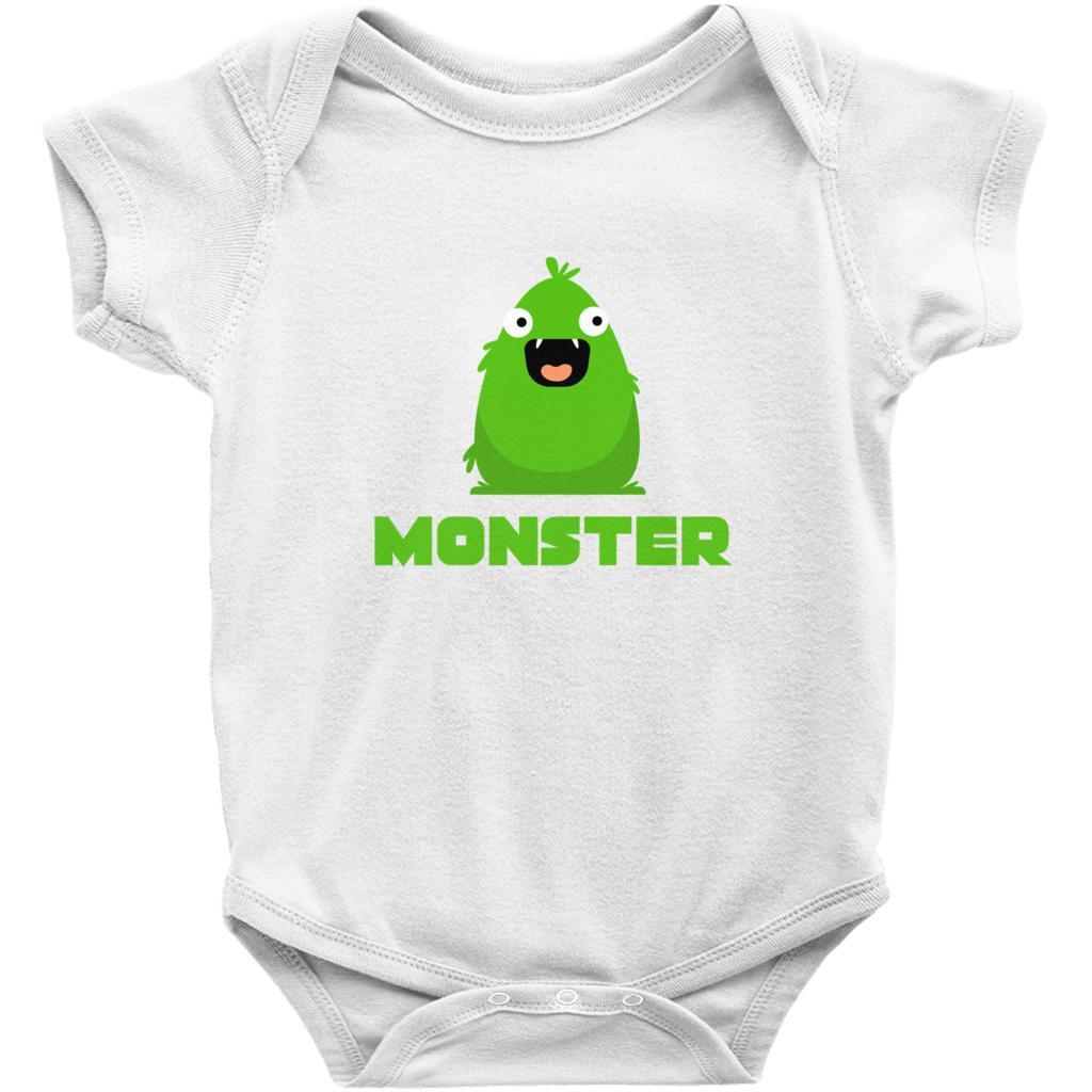 Matching Set | I Created A Monster | 3 of 3 BABY Onesie | Family, Reunion, Vacation Graphic T-Shirt Tee BOXELS