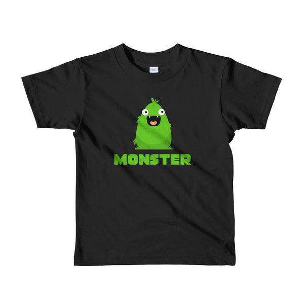 Matching Set | I Created a .Monster | Short sleeve kids t-shirt Graphic T-Shirt Tee BOXELS