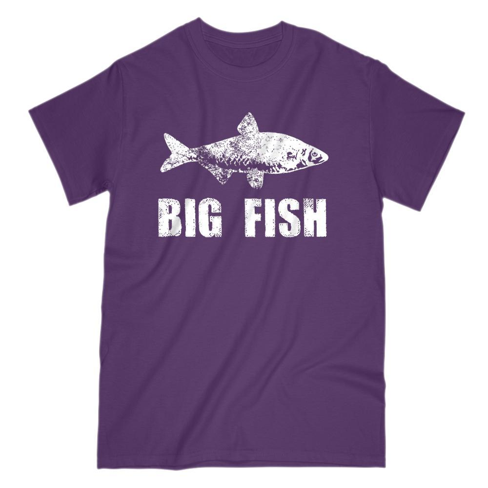 Matching Set | Little Big Fish | 1 of 3 ADULT T-shirts | Family, Reunion, Vacation Graphic T-Shirt Tee BOXELS