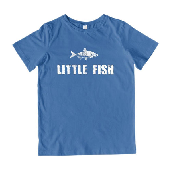 Matching Set | Little Big Fish | 2 of 3 KID T-shirts | Family, Reunion, Vacation Graphic T-Shirt Tee BOXELS