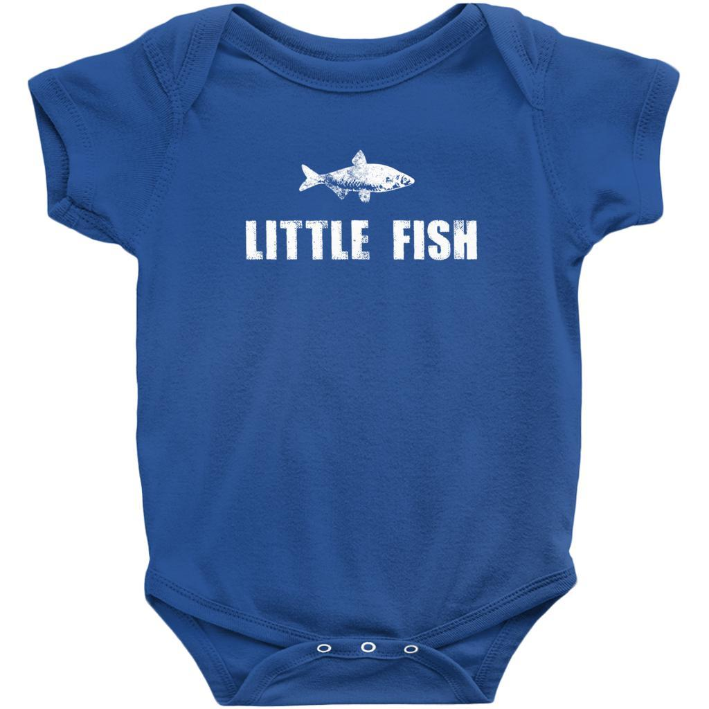 Matching Set | Little Big Fish | 3 of 3 BABY Onesies| Family, Reunion, Vacation