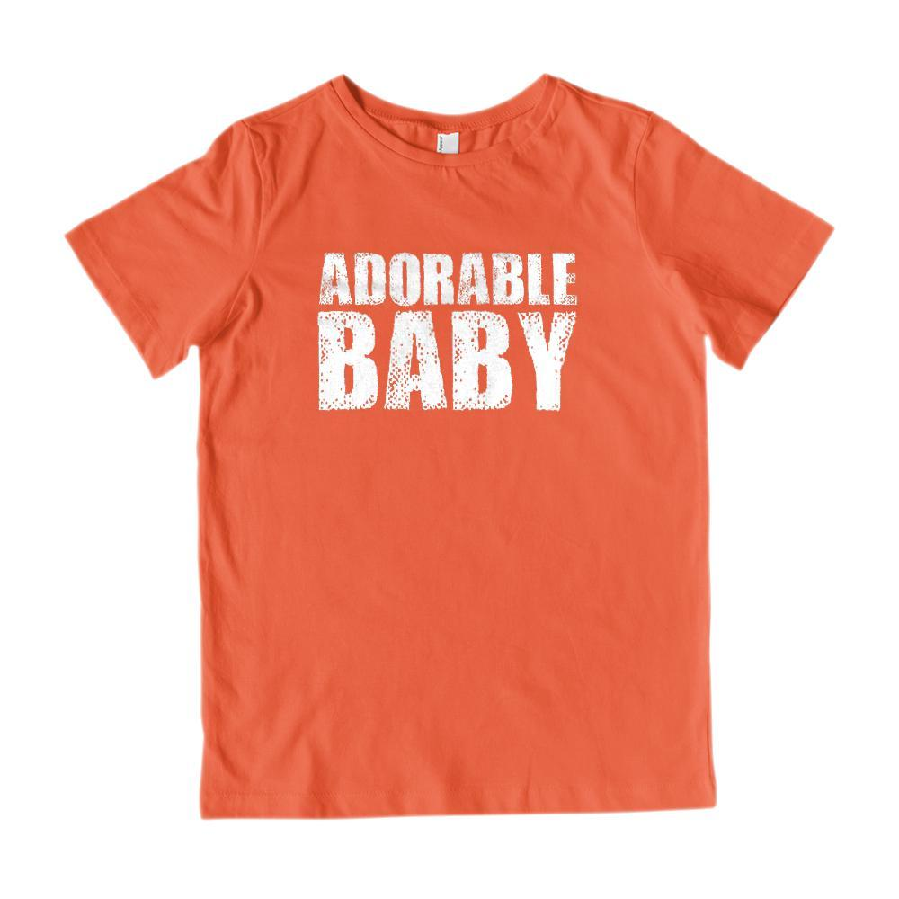 Matching Set | Make Adorable Baby | 2 of 3 KIDS T-shirts | Family, Reunion, Vacation Graphic T-Shirt Tee BOXELS