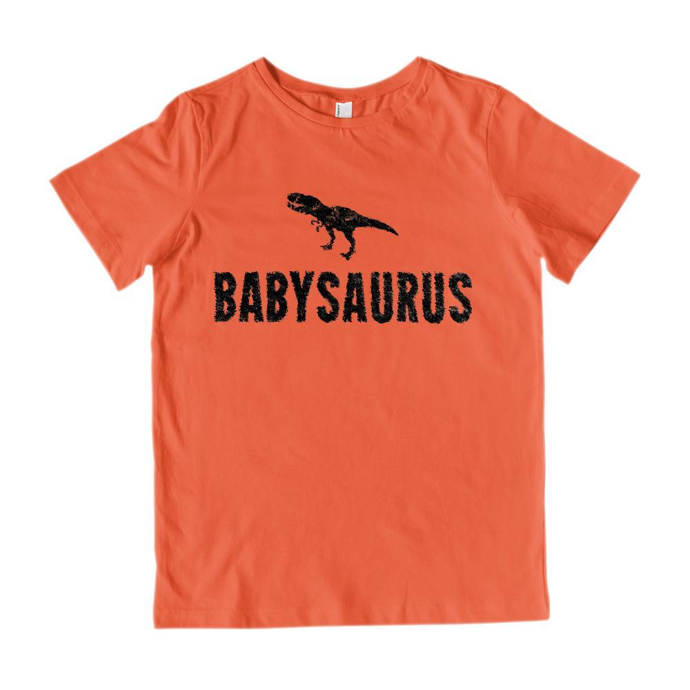 Matching Set | Saurus (dino) | 3 of 4 KIDS T-shirts | Family, Reunion, Vacation Graphic T-Shirt Tee BOXELS