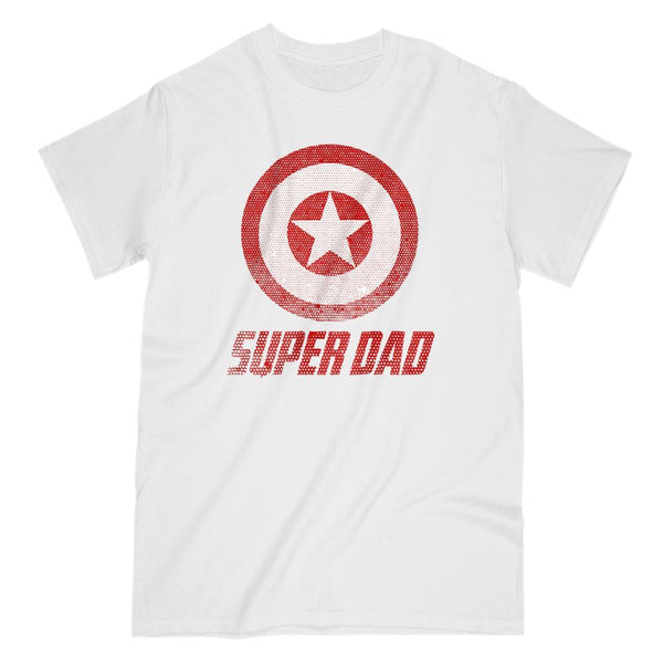 Matching Set | Super Shield | 01 of 04 DAD Men T-shirts | Family, Reunion, Vacation Graphic T-Shirt Tee BOXELS