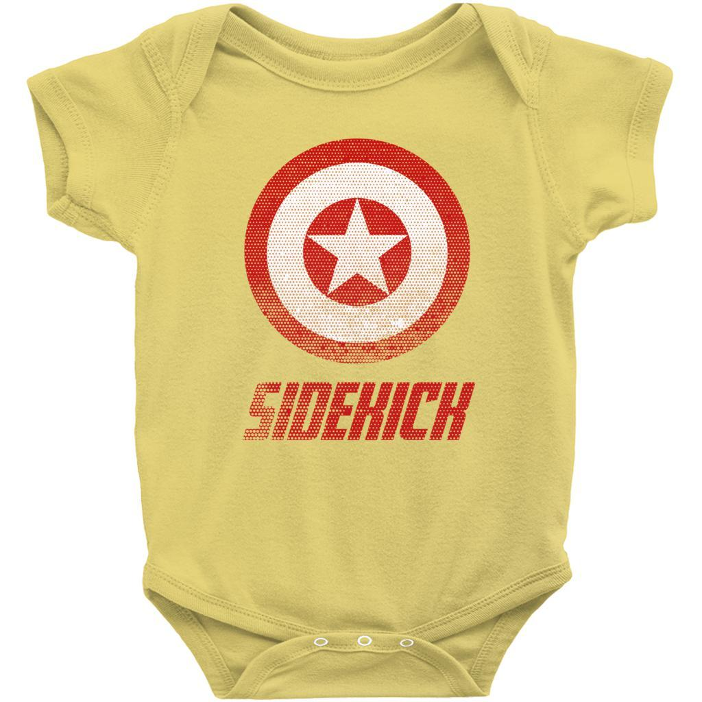 Matching Set | Super Shield | 04 of 04 BABY Onesies | Family, Reunion, Vacation Graphic T-Shirt Tee BOXELS