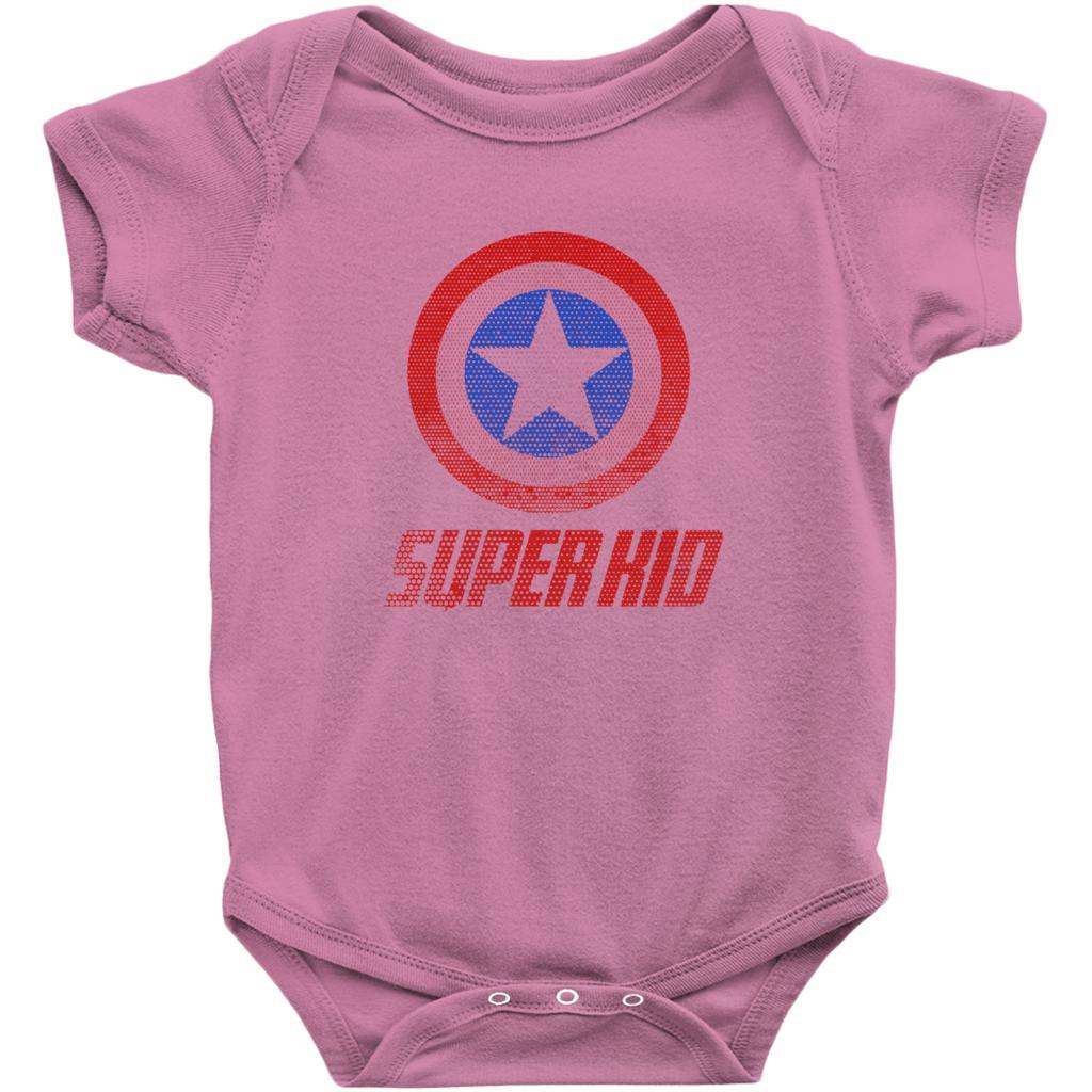 Matching Set | Super Shield | 04 of 04 BABY V2 Onesies | Family, Reunion, Vacation Graphic T-Shirt Tee BOXELS