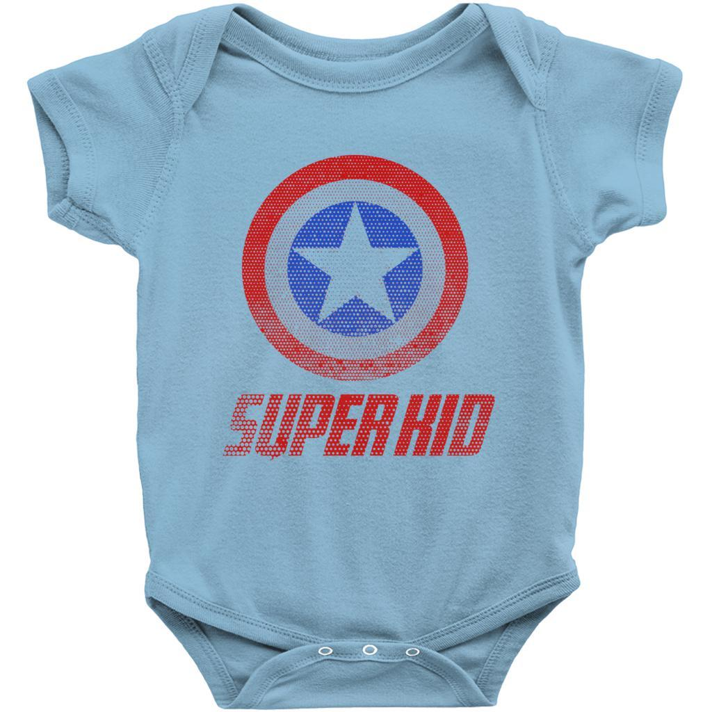 Matching Set | Super Shield | 04 of 04 BABY V2 Onesies | Family, Reunion, Vacation