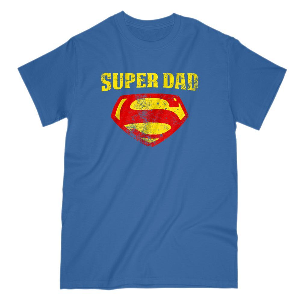 Matching Set | Super Symbol | 1 of 4 Men T-shirts | Family, Reunion, Vacation