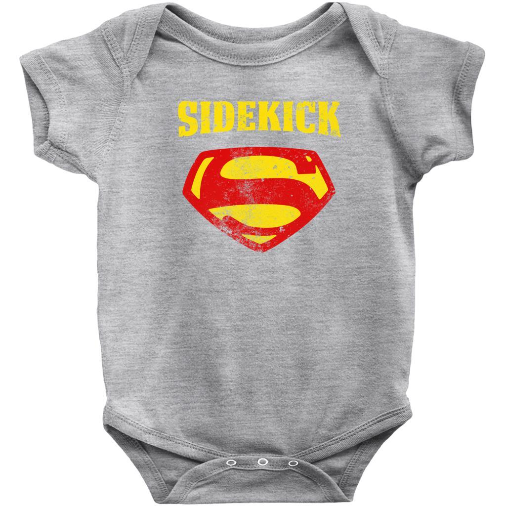 Matching Set | Super Symbol | 4 of 4 BABY Onesies | Family, Reunion, Vacation Graphic T-Shirt Tee BOXELS