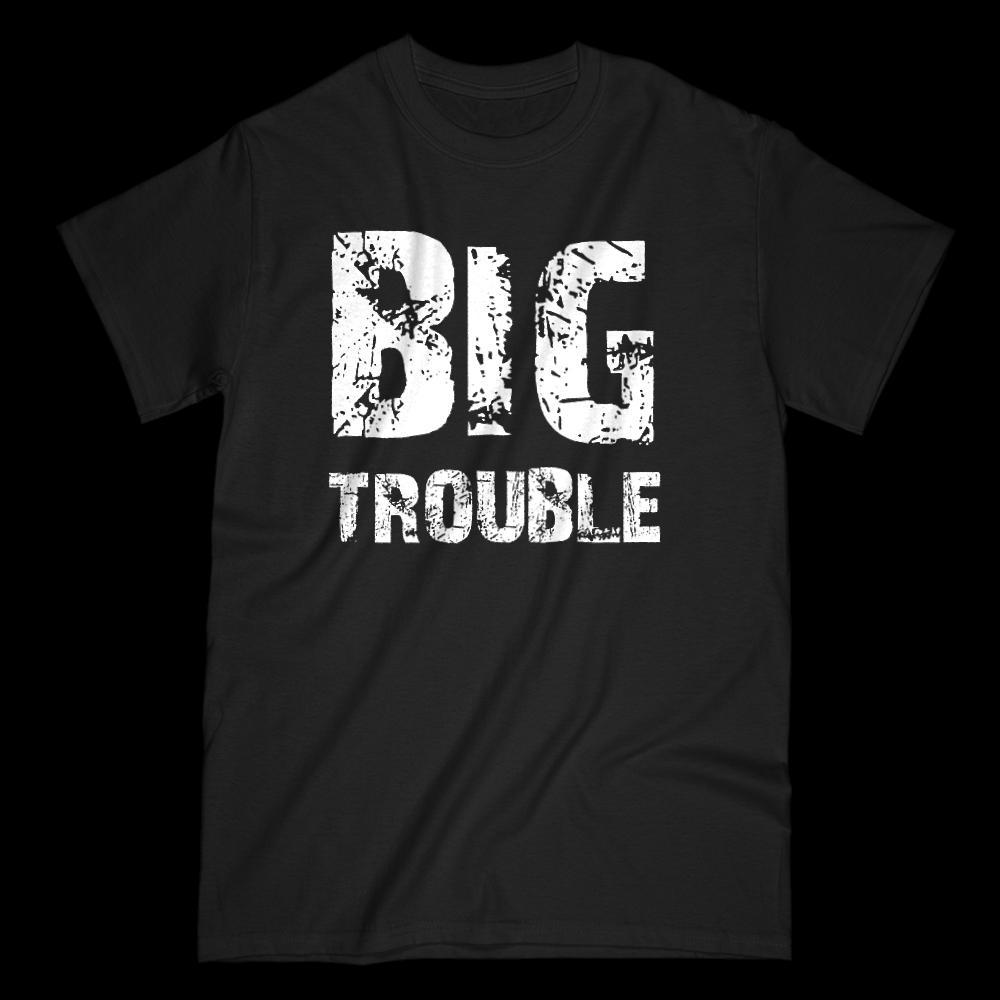 Matching Set | Trouble (Big, Little) | 1 of 3 ADULT T-Shirt | Family, Reunion