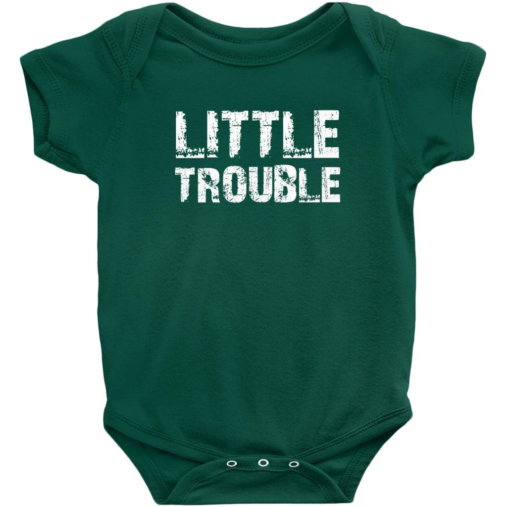 Matching Set | Trouble (Big, Little) | 3 of 3 BABY Onesies | Family, Reunion Graphic T-Shirt Tee BOXELS