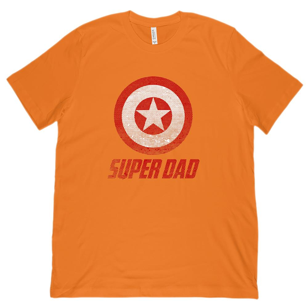 Matching Set | Unisex (men) Soft BC 3001 Tee | Super Shield | 01 of 04 DAD | Graphic T-Shirt Tee BOXELS
