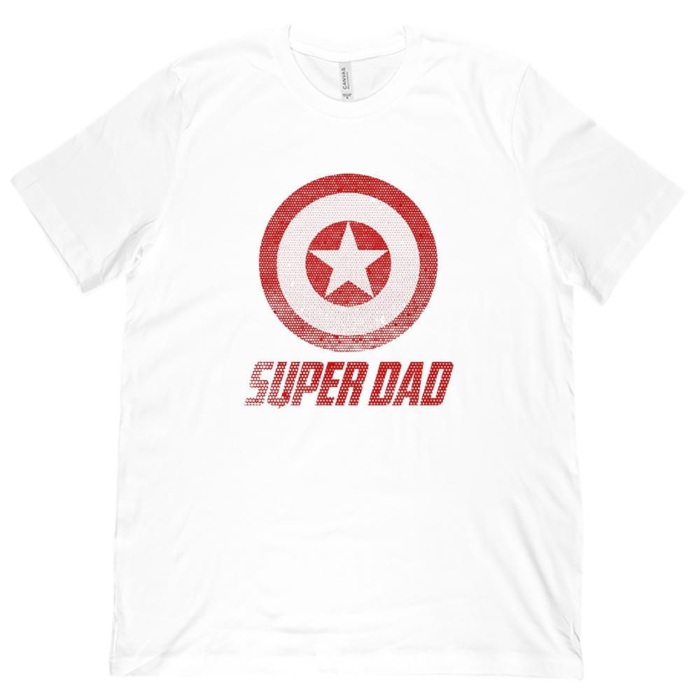 Matching Set | Unisex (men) Soft BC 3001 Tee | Super Shield | 01 of 04 DAD |