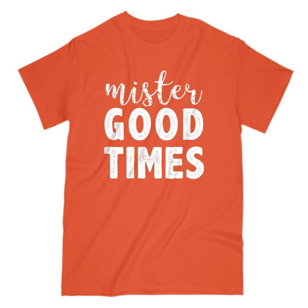 Mister Good Times Dad, Men, Boy, Graphic Sayings Graphic T-Shirt Tee BOXELS