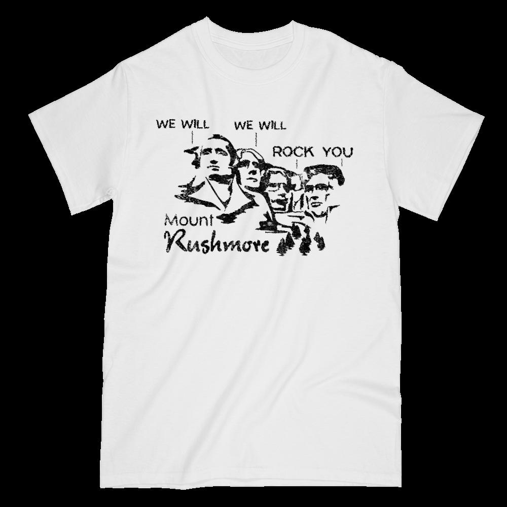 Mount Rushmore We will Rock You Graphic T-Shirt Tee BOXELS