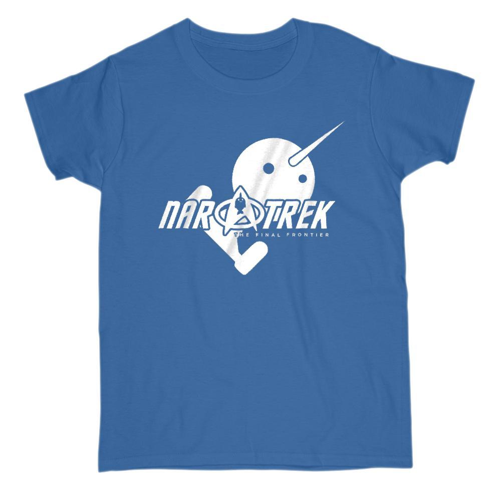 Nar Treck The Last Narwhal Movie parody Graphic T-Shirt Tee BOXELS