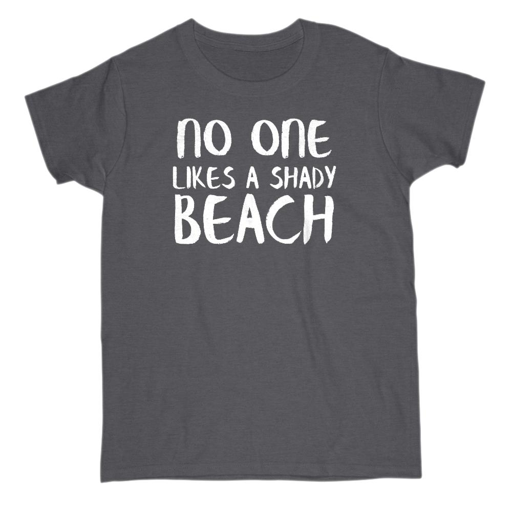 No one likes a shady beach Graphic T-Shirt Tee BOXELS