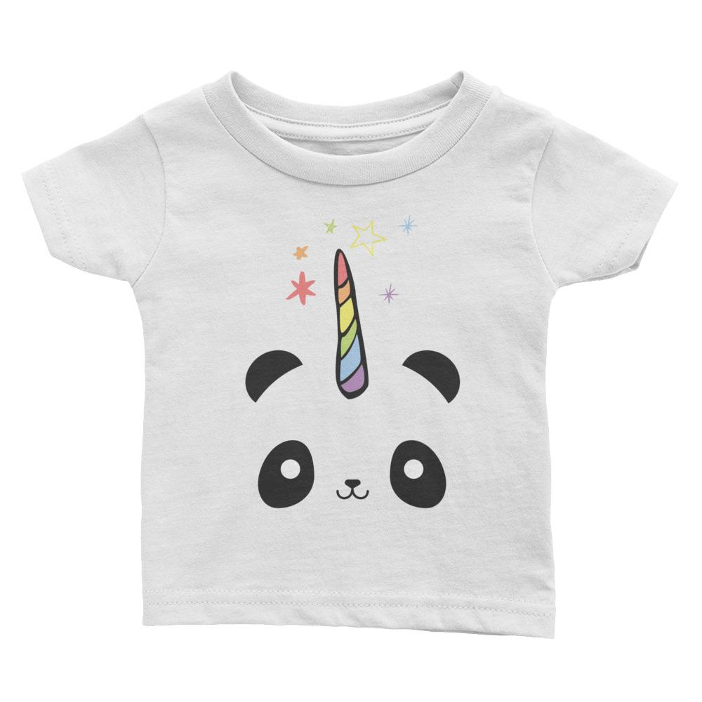 Pandacorn Infant Tee - Magical Unicorn Panda Kawaii Cuteness