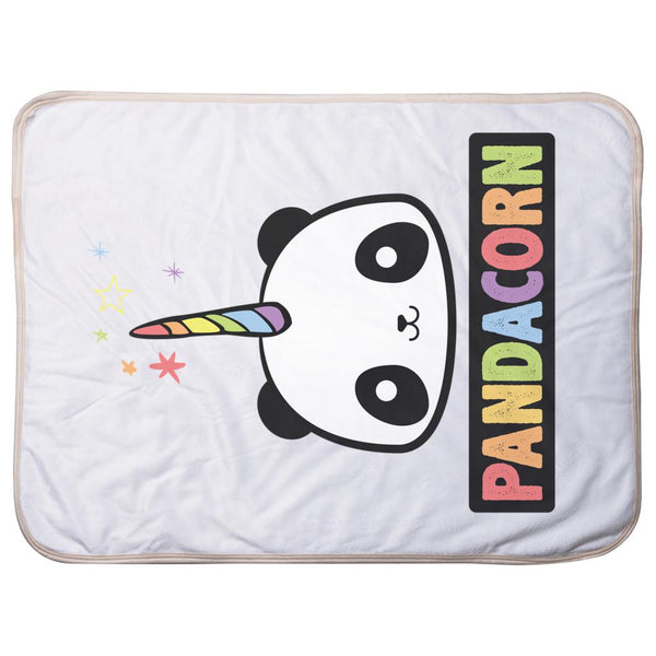 Pandacorn - Sherpa Blankets (Infant Sizes) Graphic T-Shirt Tee BOXELS