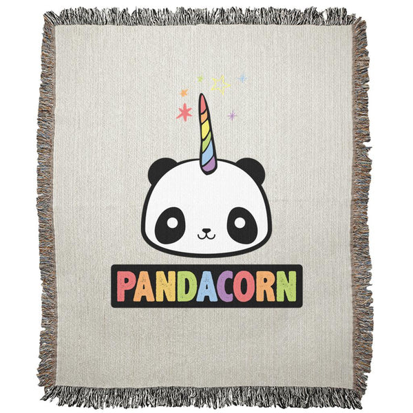 Pandacorn Woven Blankets Graphic T-Shirt Tee BOXELS