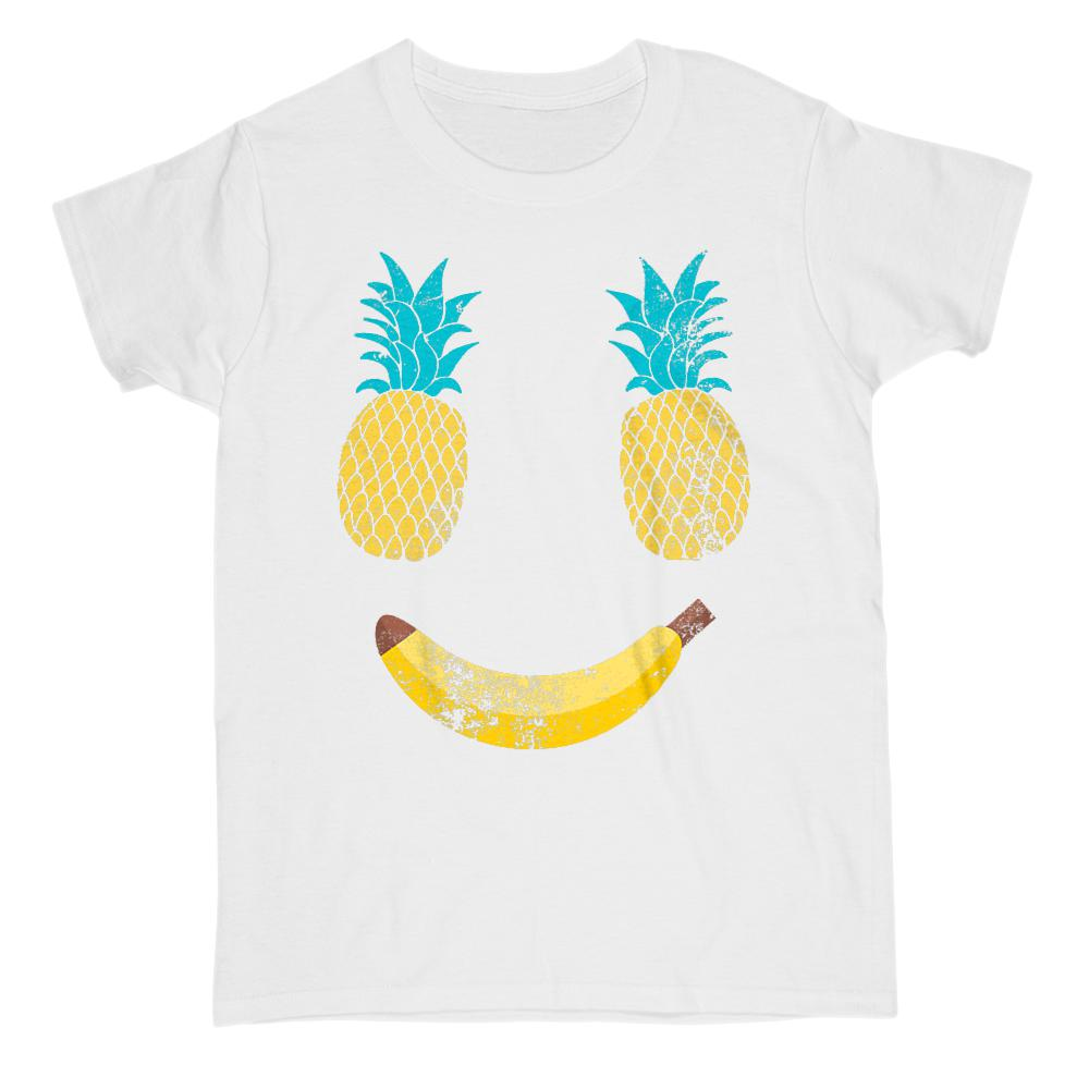 Pineapples Chest Smile Cover (women) Graphic T-Shirt Tee BOXELS