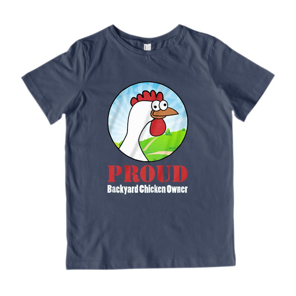 Proud Backyard Chicken Owner Graphic T-Shirt Graphic T-Shirt Tee BOXELS