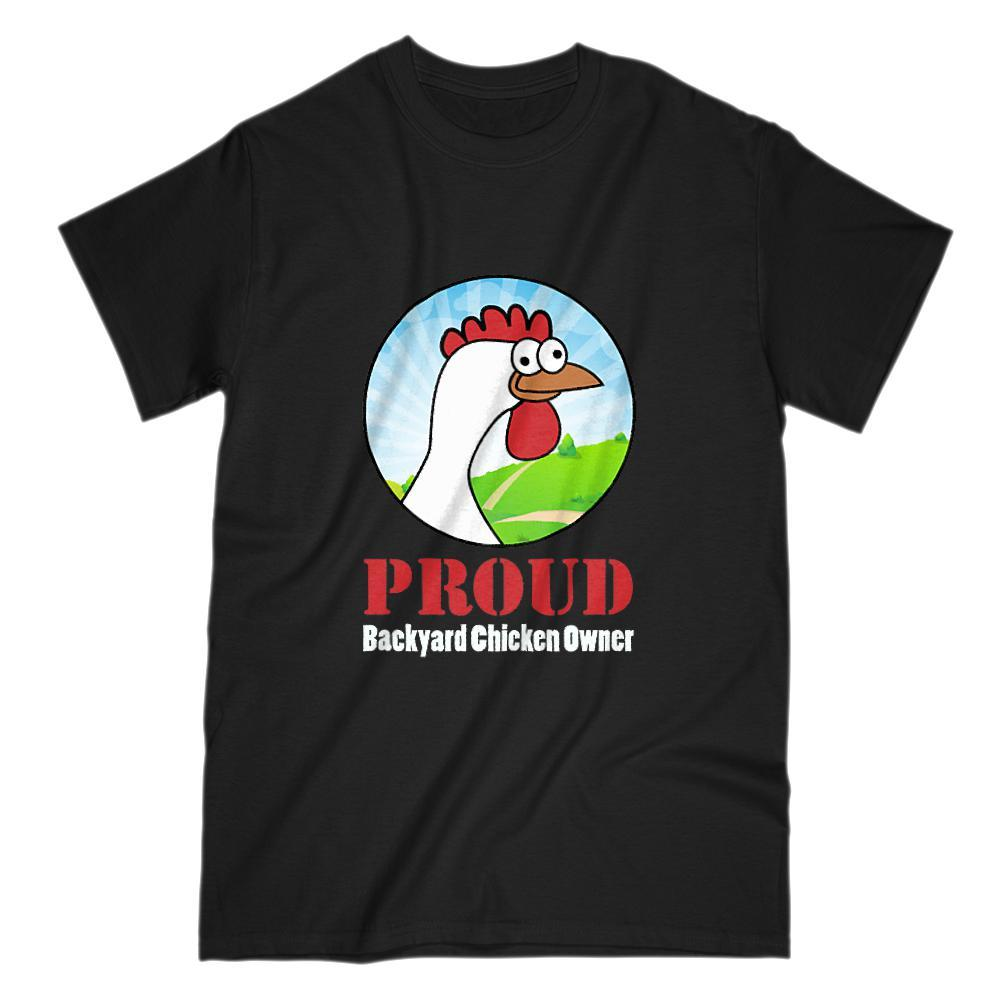 Proud Backyard Chicken Owner Graphic T-Shirt