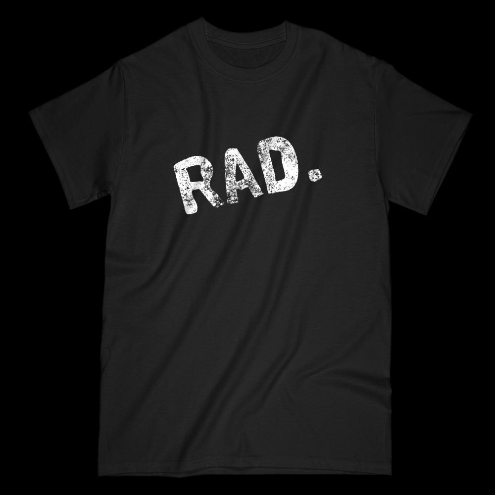 Rad Slanted Grunge Graphic T-Shirt