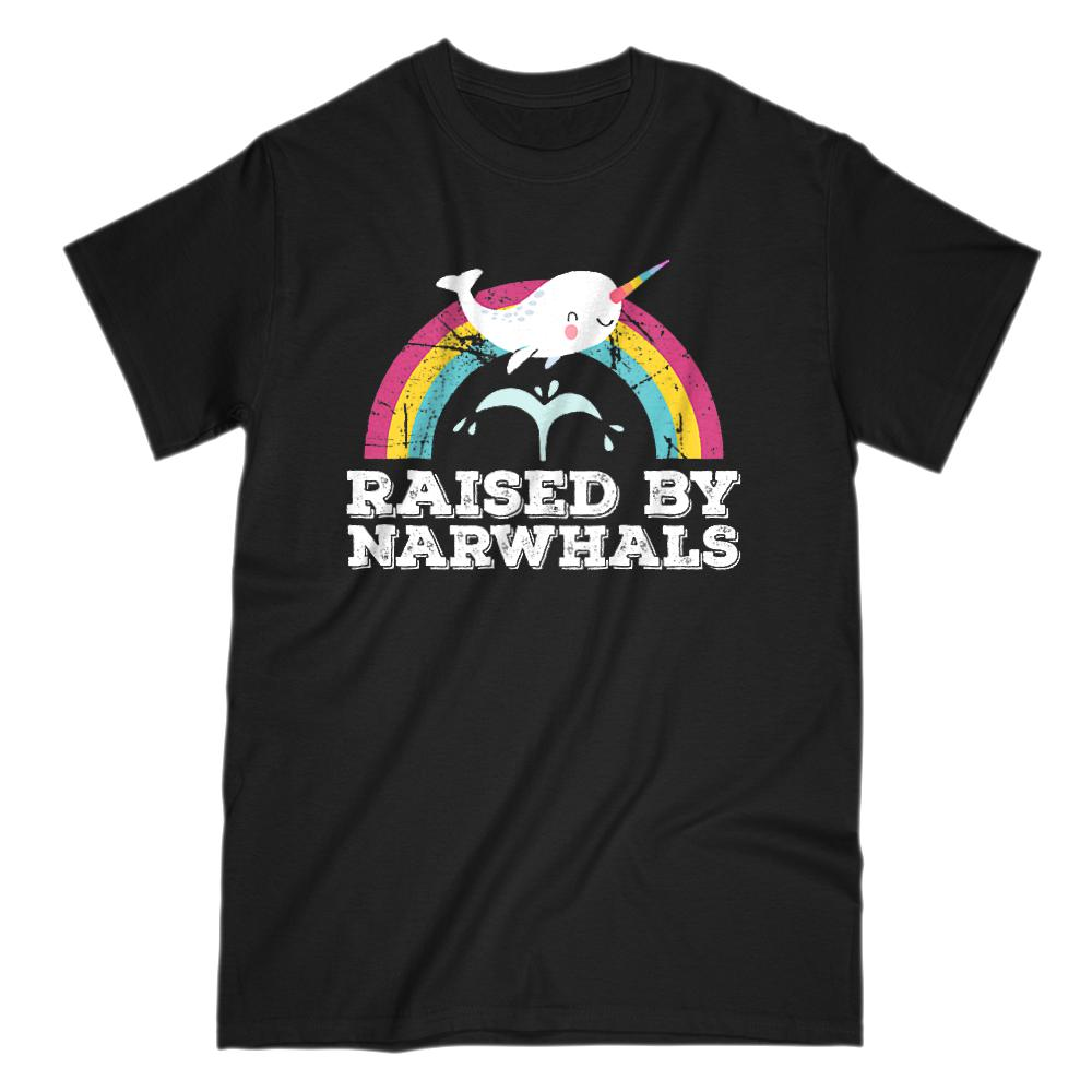 Raised by Narwhals Happy Rainbow (adults)
