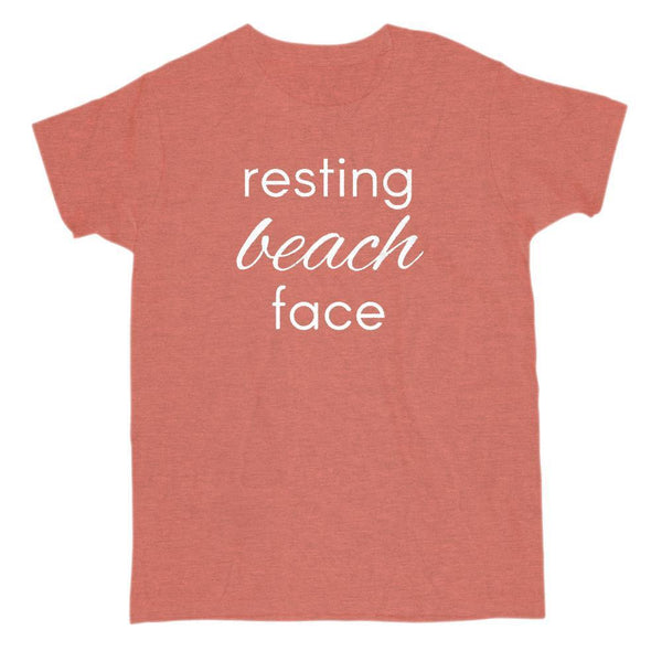 resting beach face summer outdoors vacation t-shirt Graphic T-Shirt Tee BOXELS