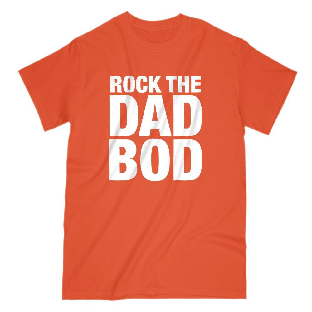 Rock The Dad Bod Graphic Saying T-Shirt Graphic T-Shirt Tee BOXELS