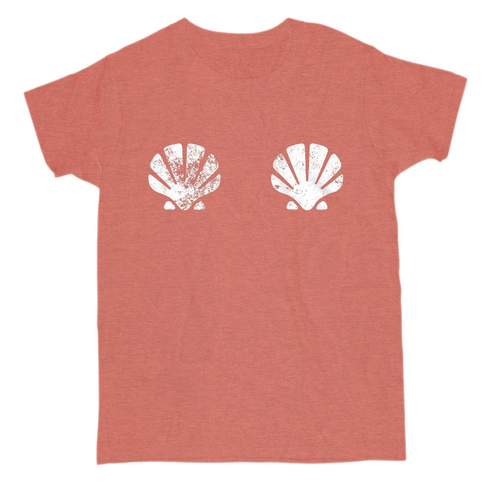 Sea Shells T-shirt Graphic T-Shirt Tee BOXELS