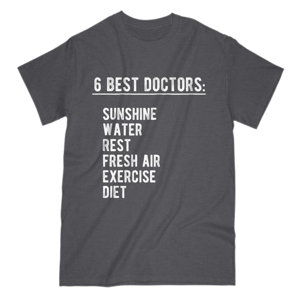 Six Best Doctors Graphic Sayings t shirt