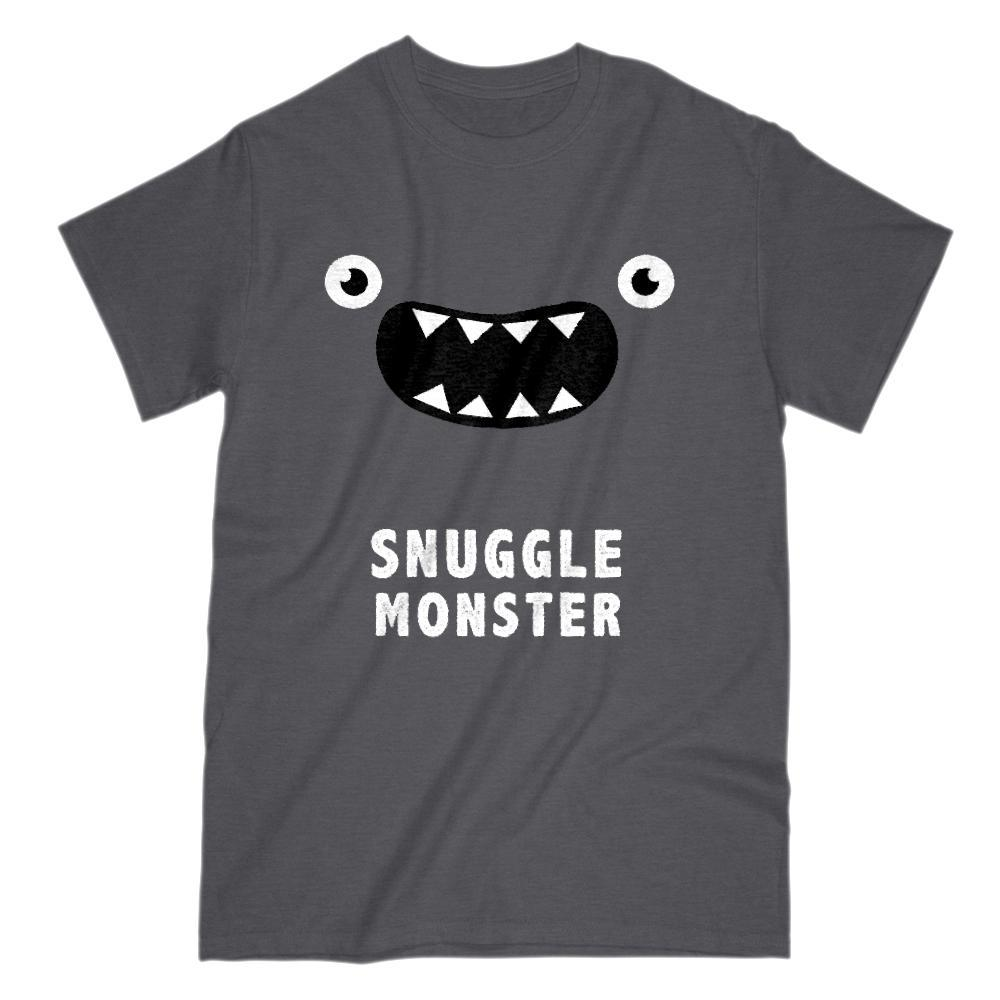 Snuggle Monster Funny Face Graphic Tee