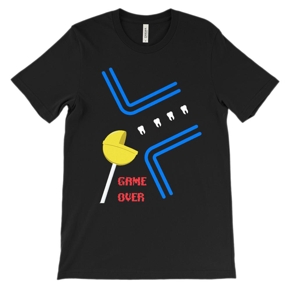 (Soft BC 3001 Unisex) Dentist Game Over Lolly