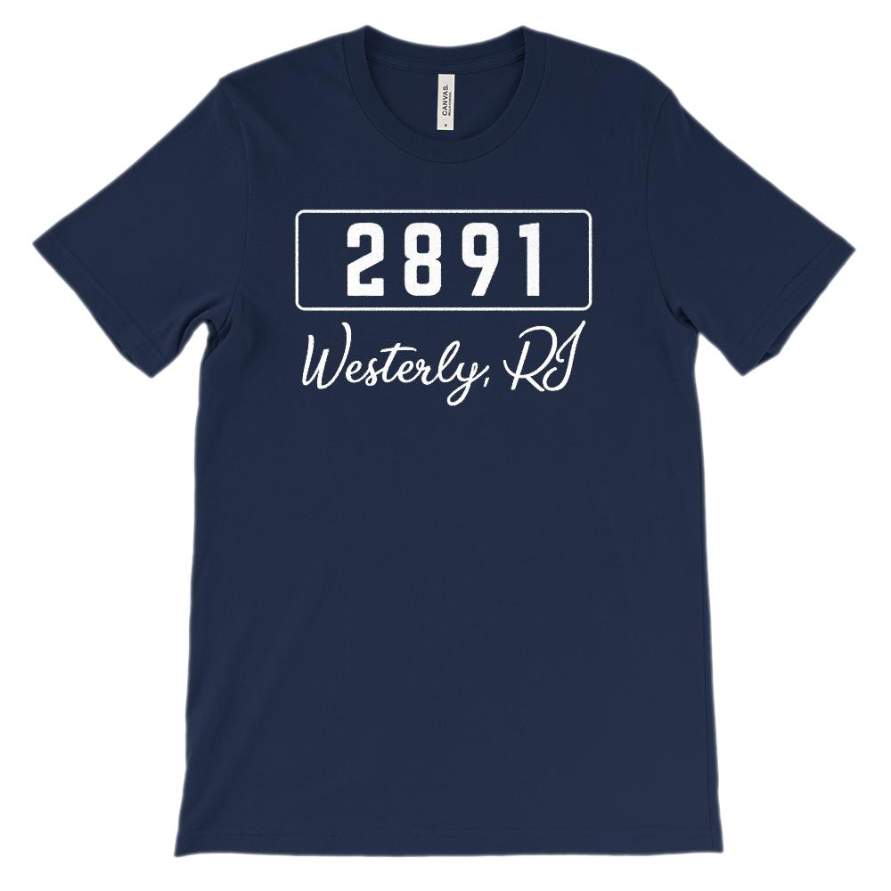 (Soft BC 3001 Unisex) Zipcode City State Westerly RI, 2891